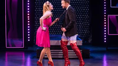 To walk in 'Kinky Boots,' you need to stay well, says star Karis Gallant