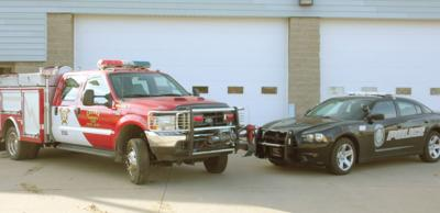 Colona Firefighters and Police Officers