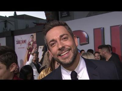 'Shazam!' star Zachary Levi on a superhero fight with Dwayne Johnson
