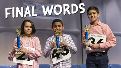Final Words of the 2019 State Spelling Bee