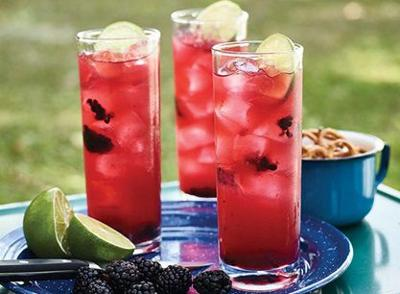 Blackberry Lemon Fizz