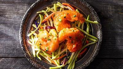 Creamy Sweet Chili Shrimp