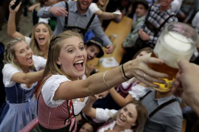 The beer is flowing again at Munich's fabled Oktoberfest