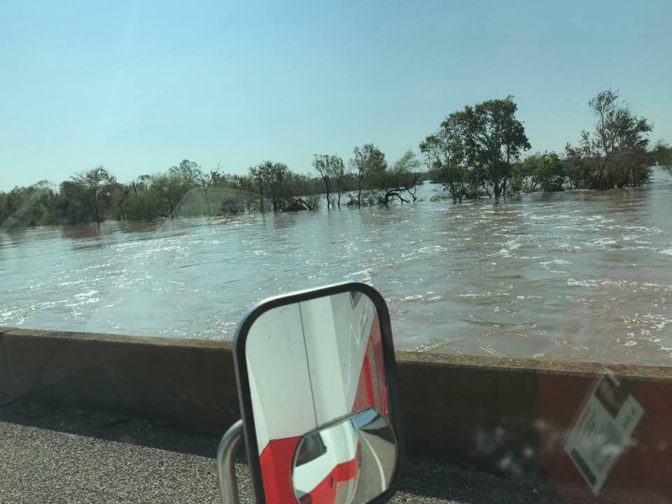 Guadalupe River after Harvey