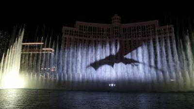 Game of Thrones takes over Las Vegas fountains
