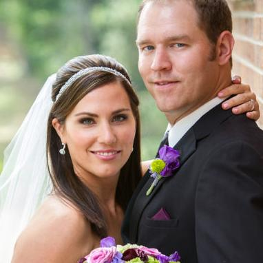 Erin and Clint tie the knot