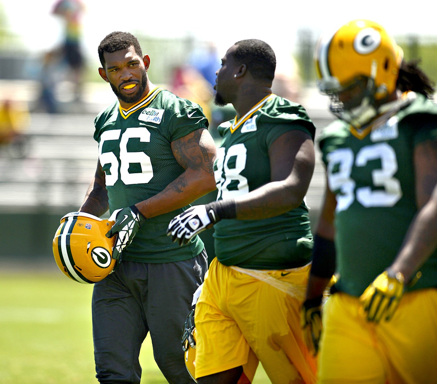 Ten questions as Packers open training camp