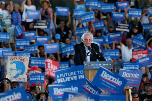 Bernie's bucks: Sanders' fundraising — and spending — prowess in 5 charts