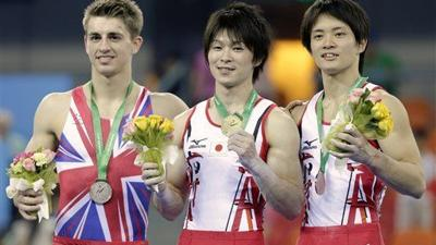 Uchimura claims 5th all-around title at gym worlds