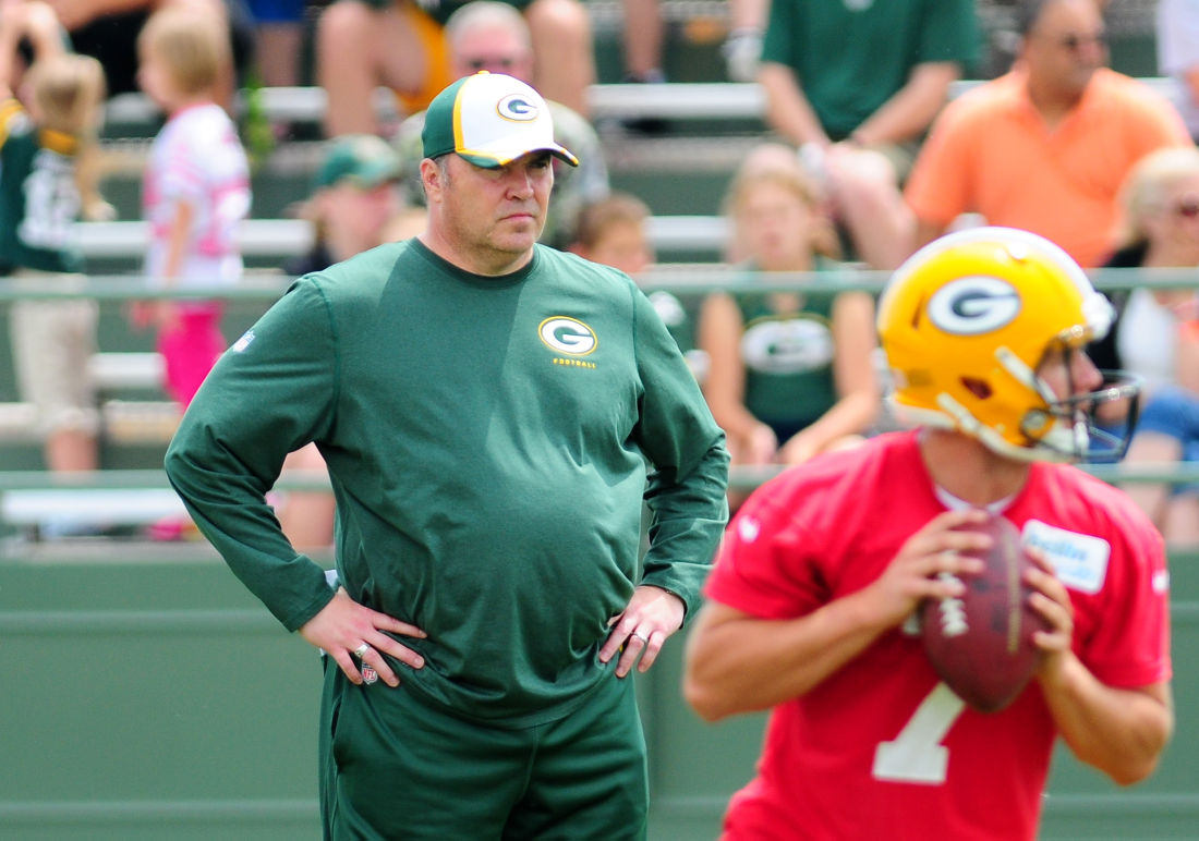 Mike McCarthy has reason to be optimistic on eve of Packers' camp
