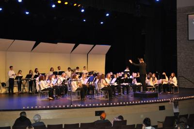 Students honored in music, art