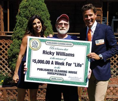 P'burg man wins Publisher's Clearing House prize