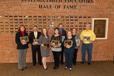 Educators honored