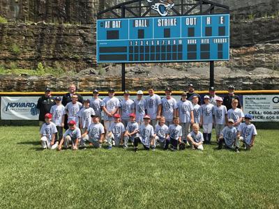 Floyd Central baseball program holds camp