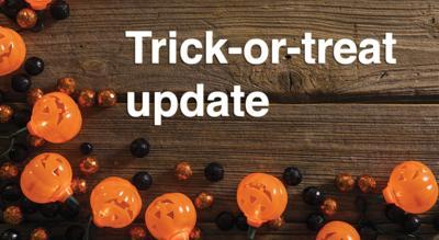 Trick-or-treat update