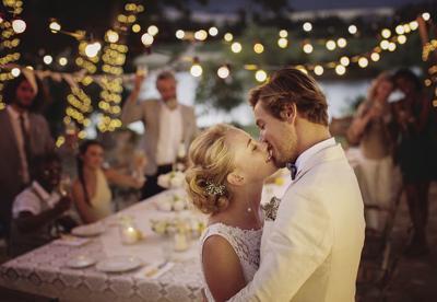 Wedding lighting rentals
