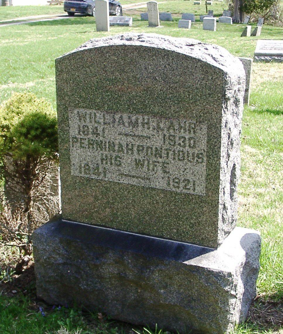 William H. Lahr gravestone