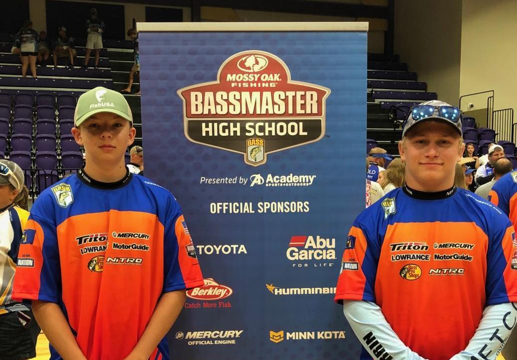 Mynderse students at Bassmaster championship