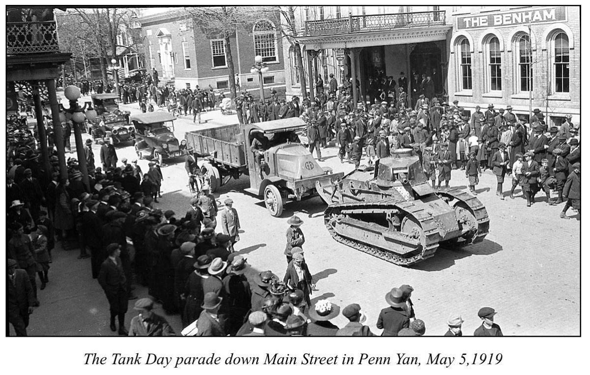 1919 parade in Penn Yan