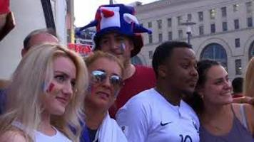 France Soccer Fans Celebrate World Cup Victory