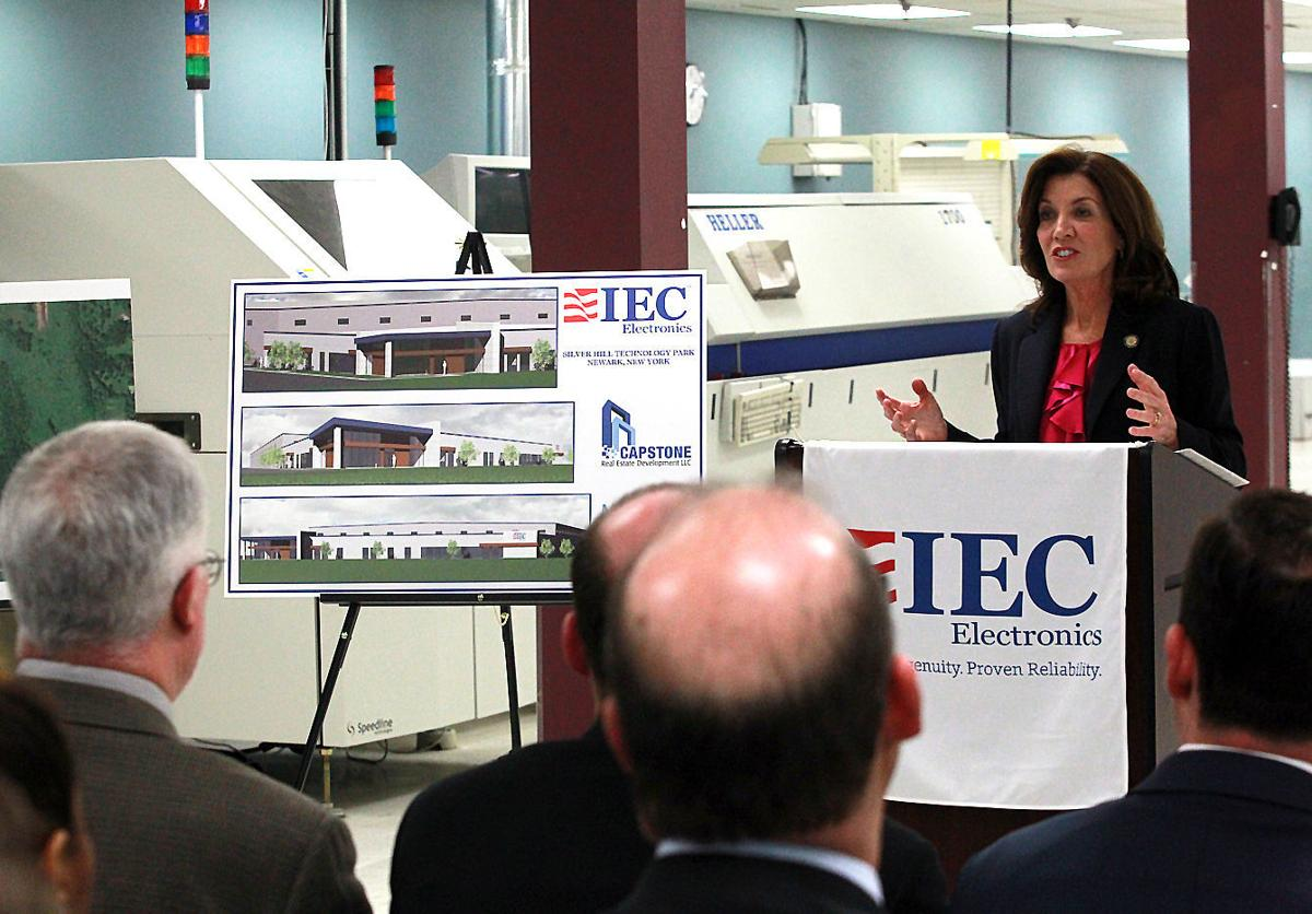 IEC expansion in Newark gets tax abatement