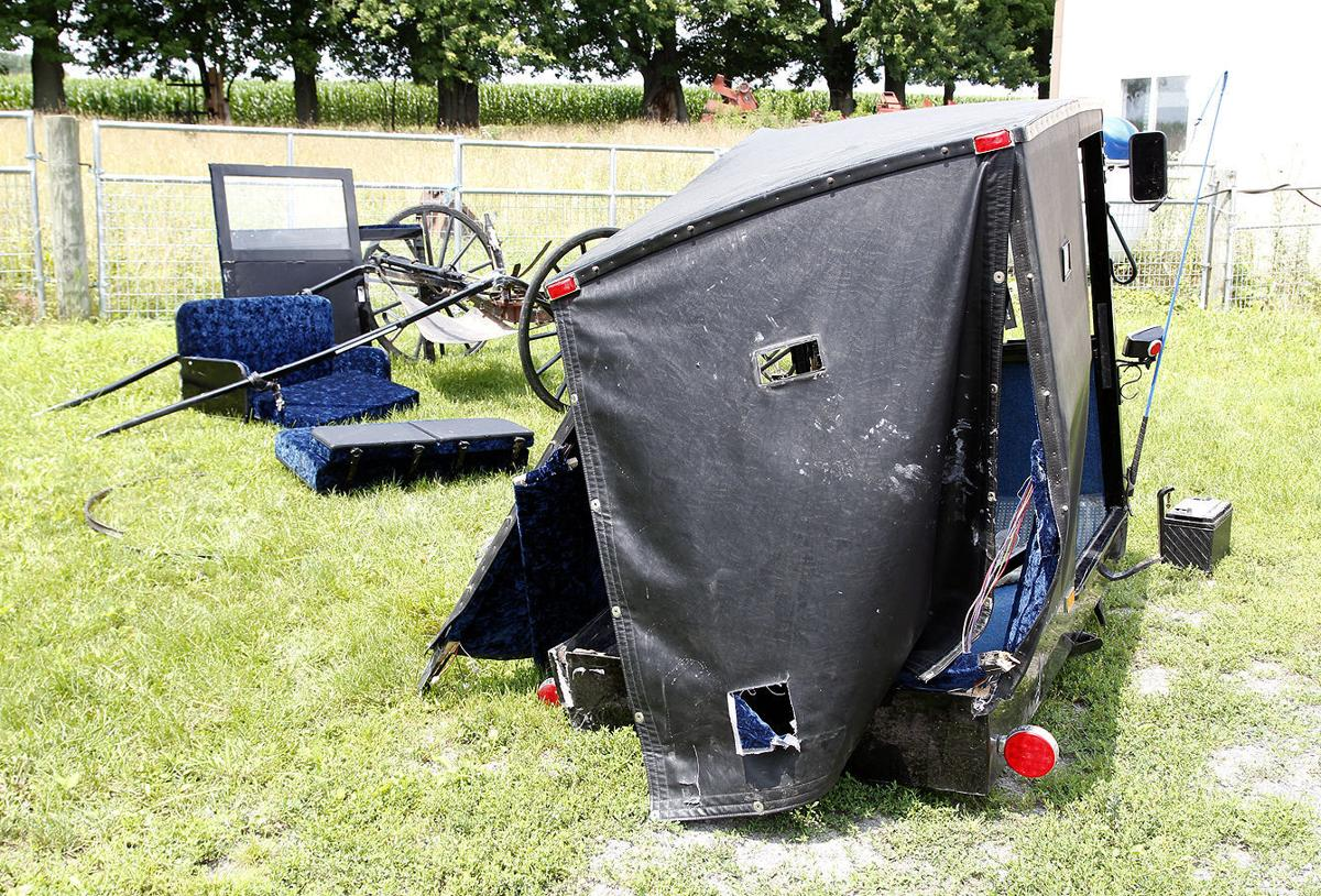 Buggy accident