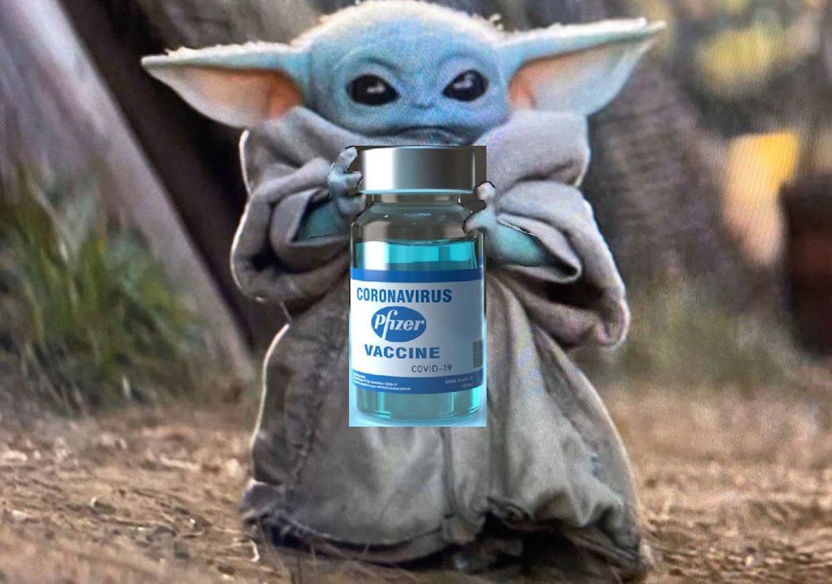 Baby Yoda Pfizer