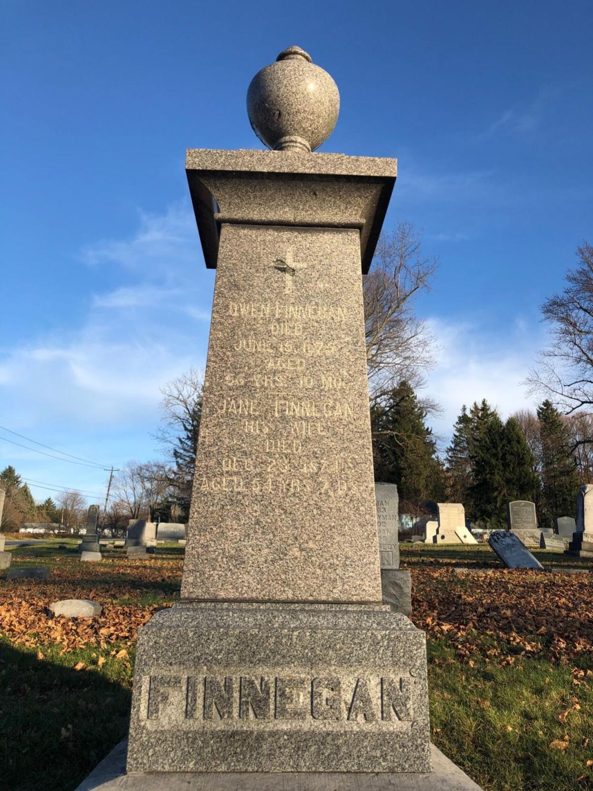 Finnegan monument