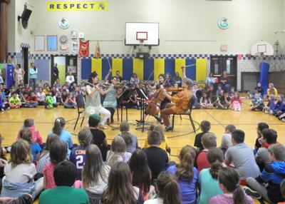 FL Chamber Music Festival players perform at Marcus Whitman