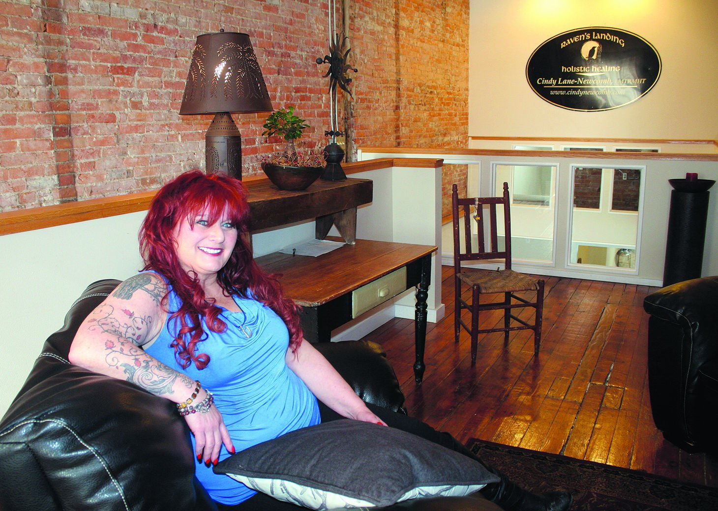 Cindy Newcomb Sits Inside Ravenu0027s Landing, The Business She Recently Opened  In Downtown Geneva. Newcomb U2014 Who Successfully Lobbied City Council To  Repeal A ...