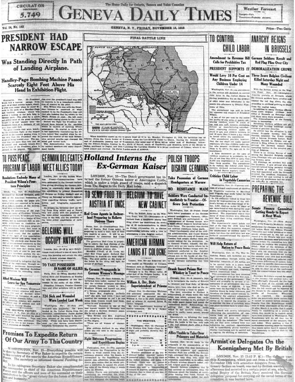 November 15, 1918