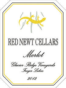 Red Newt merlot label