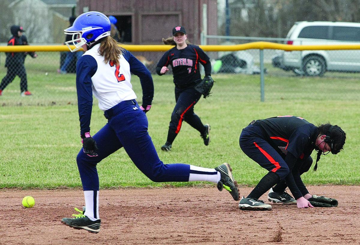 Waterloo vs. Penn Yan softball