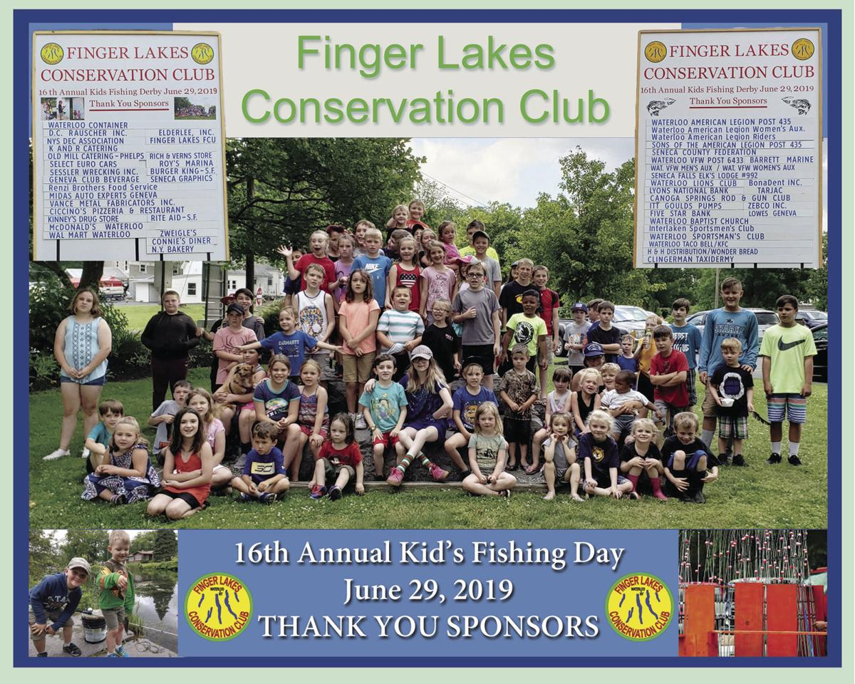 Finger Lakes Conservation Club Kids Fishing Day