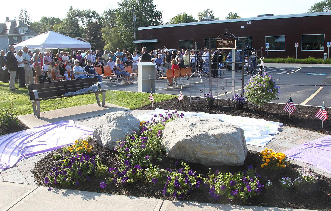 Purple Heart Trail dedicated in Seneca Falls