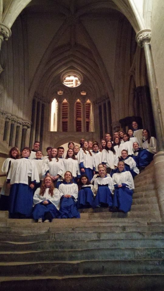 St. Peter's choir performs at Wells Cathedral