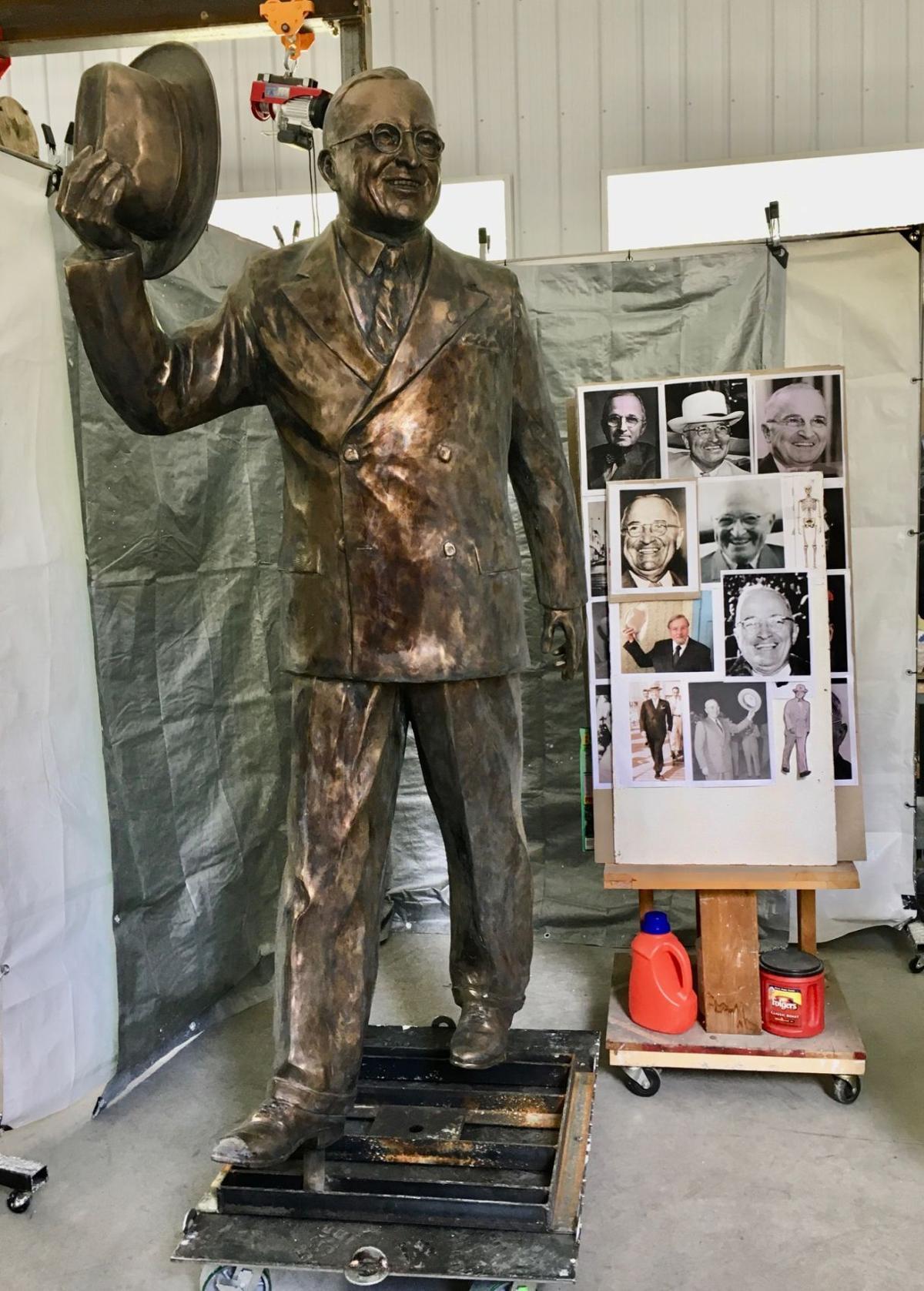 Truman sculpture