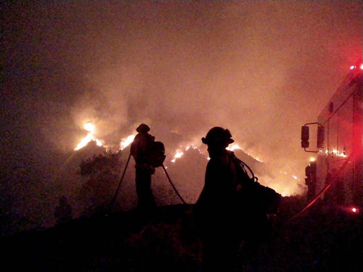 Sean Anderson wildfire