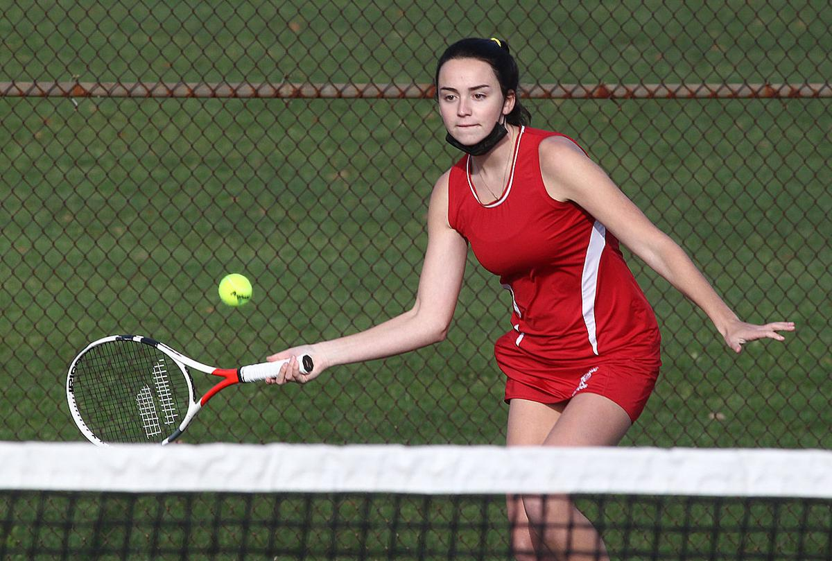 MW-PM girls tennis