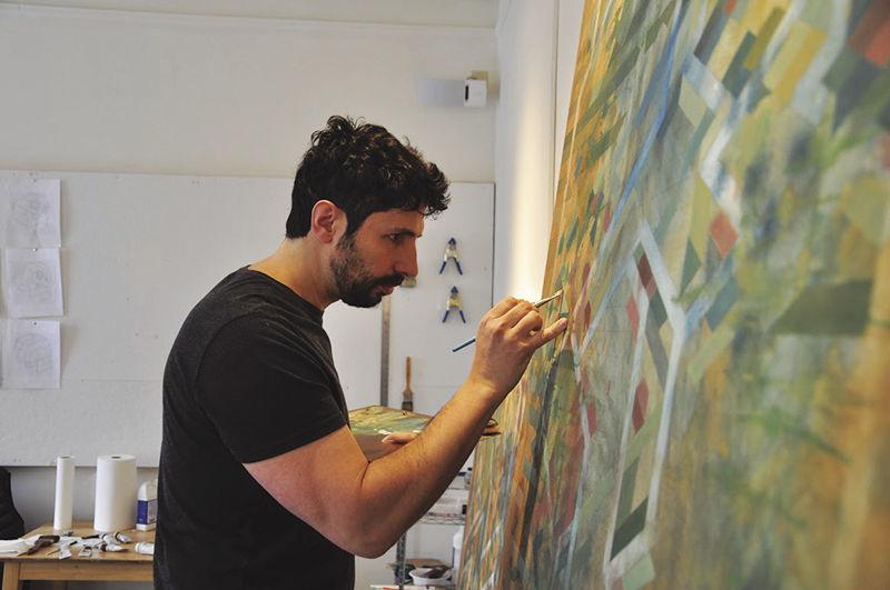 Artist at Main Street Arts