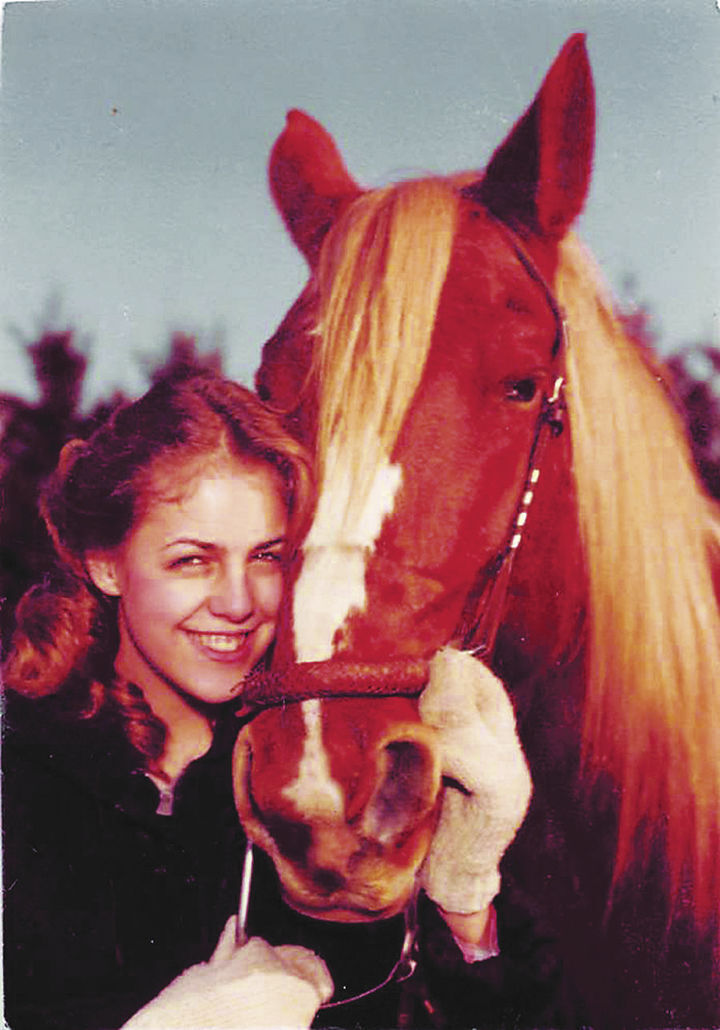 O'Connell and horse