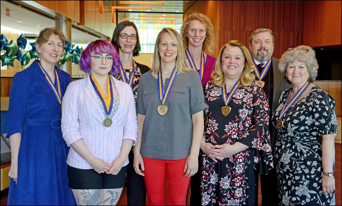 Recipients of Chancellor's awards at FLCC
