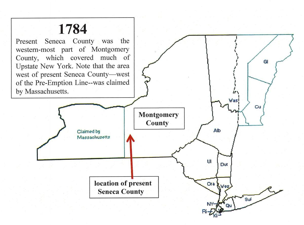LOOKING BACK — Seneca County's changing boundaries