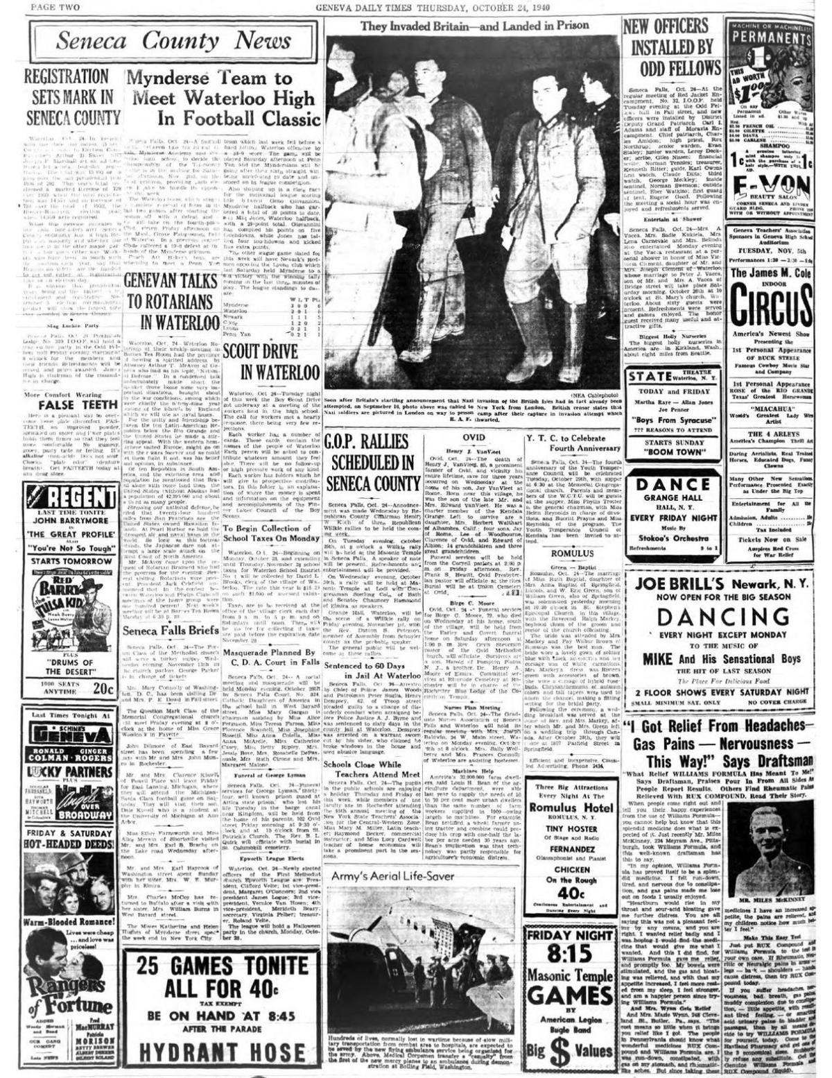 October 24, 1940 (page 2)