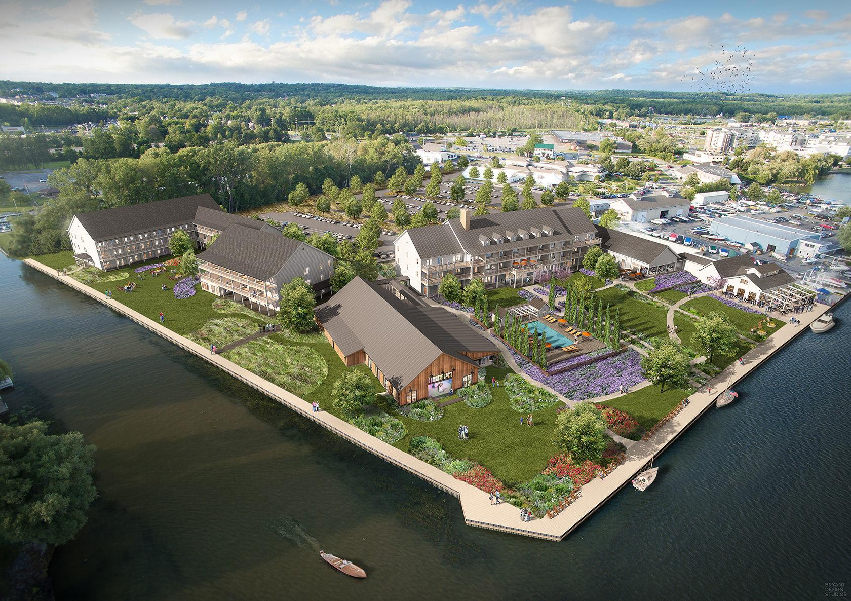 Seaplanes from NYC landing in Canandaigua for new hotel? It's a possibility, if demanded