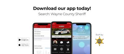 Wayne County sheriff promotes new police app for public