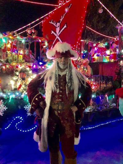 Capt. Jack at the Auburn Holiday Parade