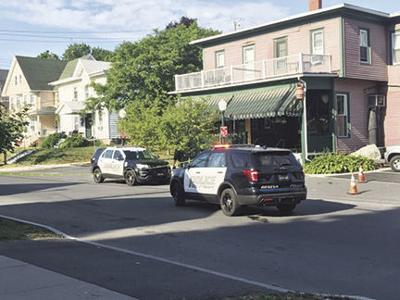 Police on Genesee Street