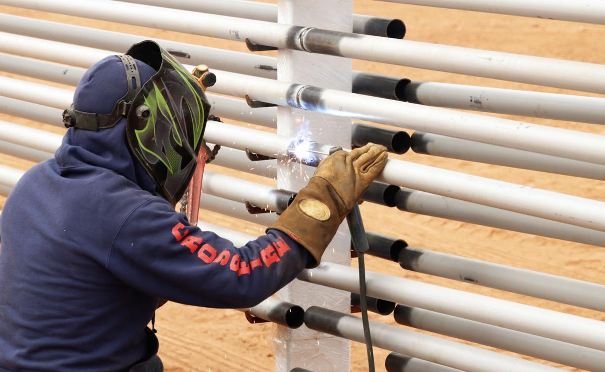 Intergrow greenhouse work-welding