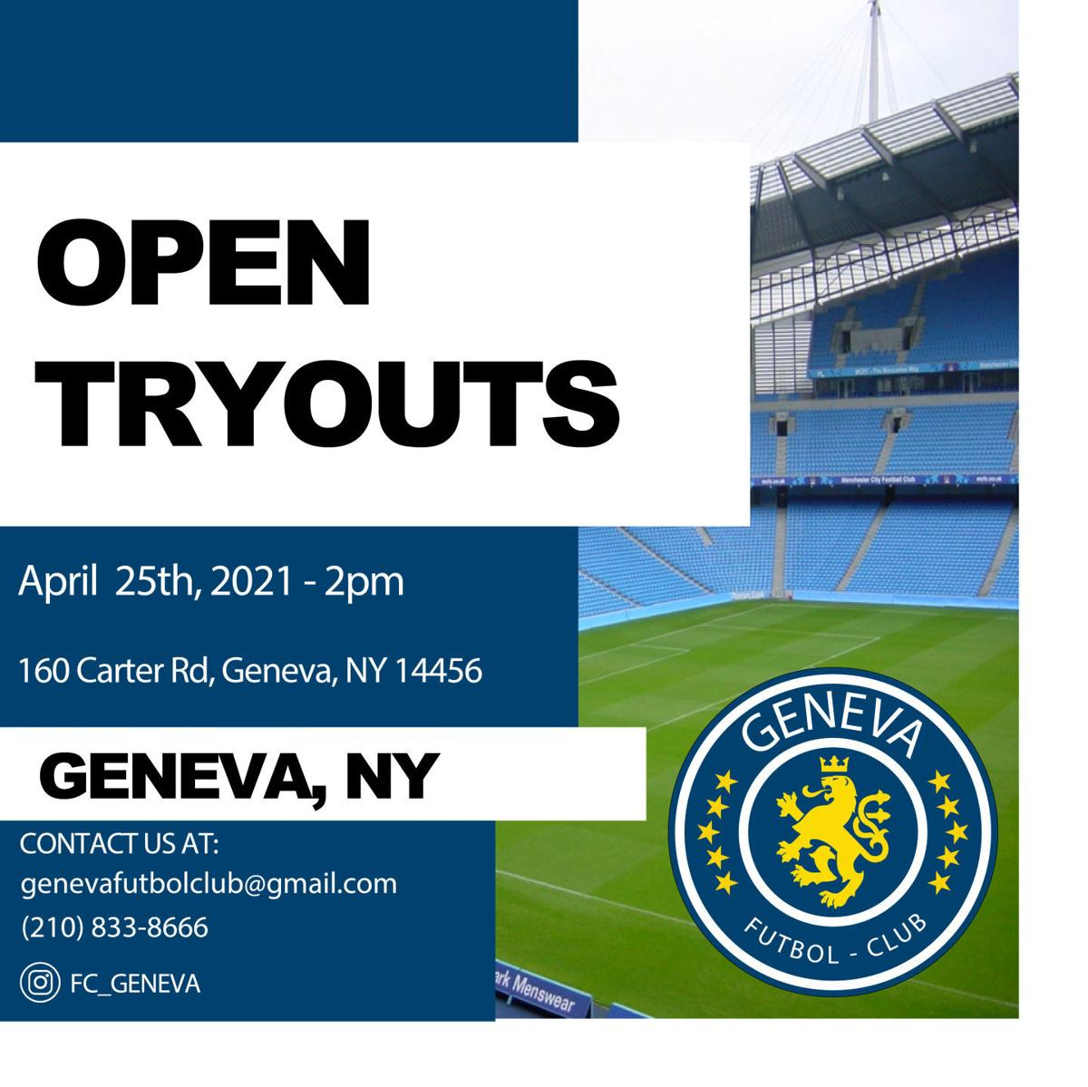 GENEVA FC TRYOUTS